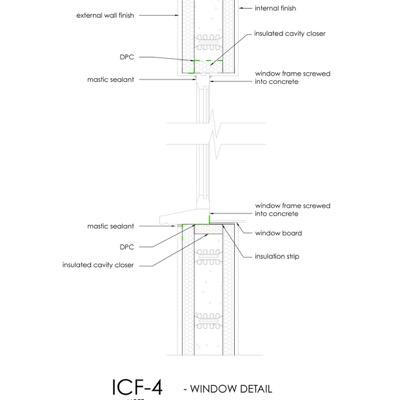 ICF Window detail