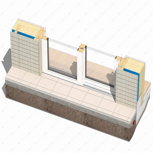 DL19 2 lift and slide timber door detail thumb 3d