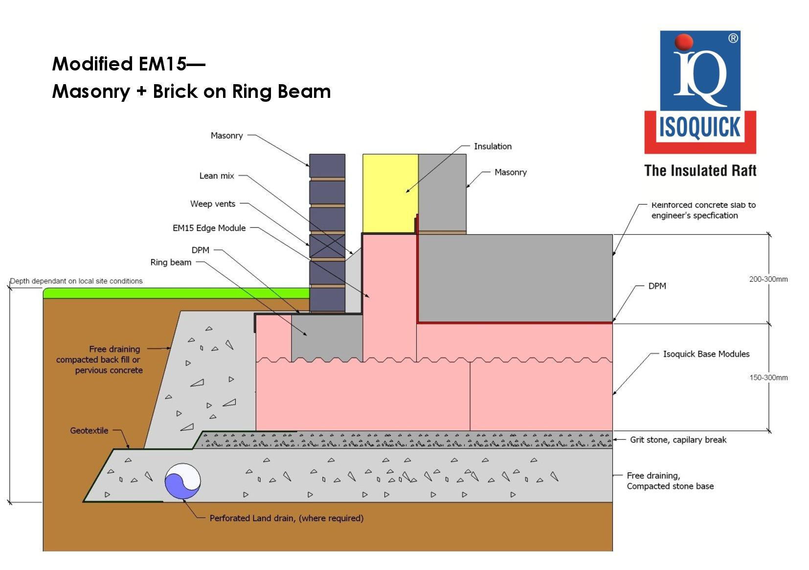 EM15 - Brick and Masonry + Ring Beam