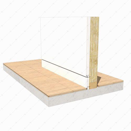 DL34 2 flush skirting board detail