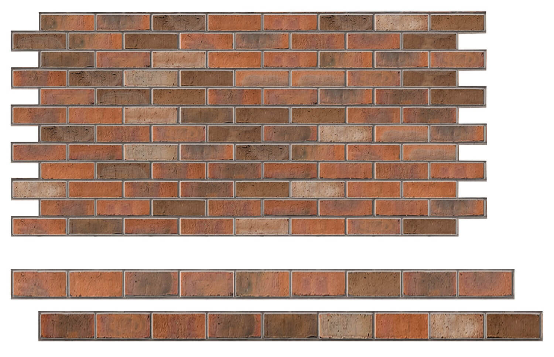 Stretcher brick bond