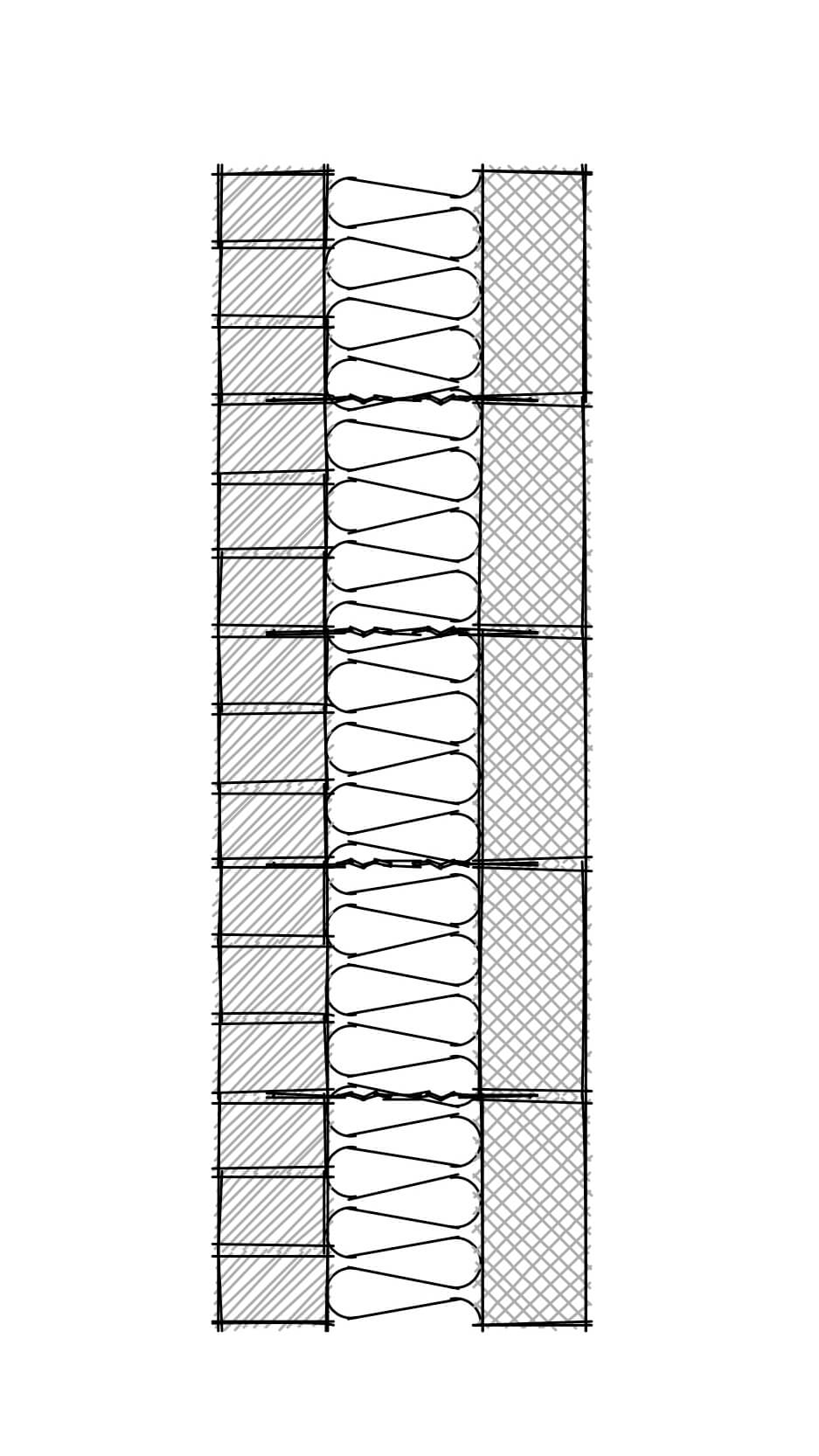 Wall Section- Stretcher