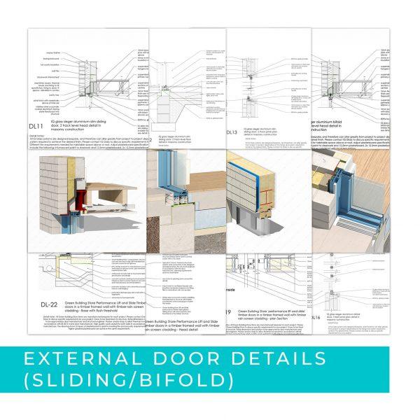 Detail Pack External doors