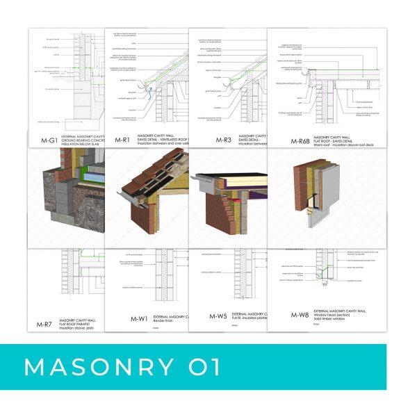 Detail Pack Masonry